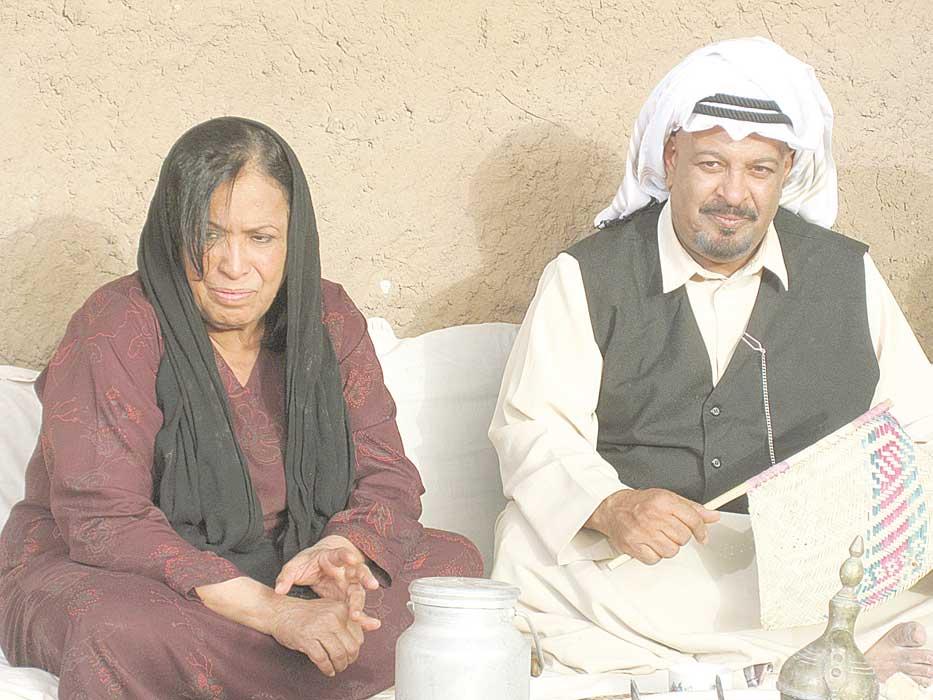 شبكة الدراما والمسرح الكويتية الخليجية عرض مشاركة واحدة حياة الفهد أقدم مشاهد رعب في مسلسل الجليب